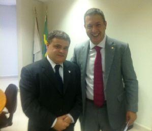 g n 100 1f7j - Dep. Ricardo Izar participa de audiência com o Presidente do IBAMA, Dr. Volney Zanardi