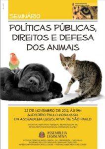 g n 107 1k8n 212x300 - Seminário sobre Políticas Públicas, Direitos e Defesa dos Animais