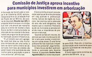 g n 141 3k0n - Projeto de Lei de autoria do Dep. Ricardo Izar Jr é aprovado na Comissão de Constituição, Justiça e Cidadania