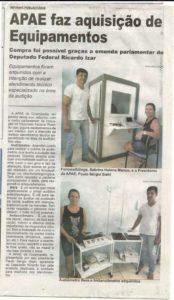 g n 20 6b3f 174x300 - APAE de Cosmópolis faz aquisição de Equipamentos graças a Emenda Parlamentar do Deputado Ricardo Izar