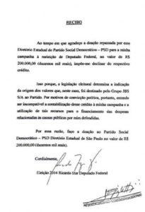 g n 364 6e4i 205x300 - Diário do Poder: DEPUTADO DEVOLVE DOAÇÃO DE R$ 200 MIL DA JBS FRIBOI