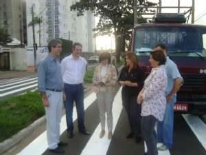 g n 46 2g8r 300x225 - Dep. Ricardo Izar acompanha vistoria para instalação de semáforo em frente escola de Rio Claro