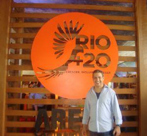 g n 70 1d8h - Dep. Ricardo Izar participa da Rio + 20 e visita as instalações da Secretaria Especial de Promoção e Defesa dos Animais do Rio de Janeiro