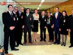 g n 74 5i3u - Dep. Ricardo Izar se encontra com Ministro em prol da criação da 1ª Vara da Justiça Federal em Rio Claro
