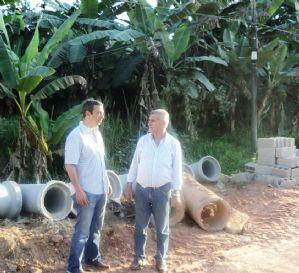 g n 98 2q0t - Dep Ricardo Izar destina recursos para a melhoria da infraestrutura urbana em Juquiá